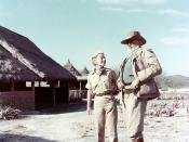 Ernest and Mary Hemingway on safari in Kenya, Africa, 1953-1954.