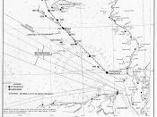 Figure 1: Trackline/Course of the SS EDMUND FITZGERALD