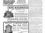 Hotel filler ads