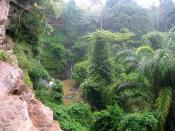 English: Akan Falls, Koforidua, Ghana