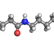 English: Nylon 6 3D structure.