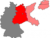 Based on the following free source as template Image:Soviet Sector Germany.png. Shows the parts of Eastern Germany that were occupied by the Soviet Union, including the part that later became East Germany in Red, the rest in Pink (shared between Poland an