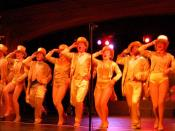 A Chorus Line was lit using conventional lighting instruments