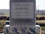Janie Watkins Thornhill