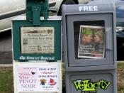 The Louisville Courier-Journal and Velocity.