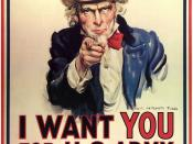 English: Uncle Sam recruiting poster.