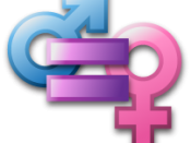 Userpage icon for supporting gender equality.