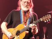 English: Willie Nelson and his guitar