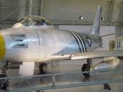 A sabre at the National Air & Space Museum
