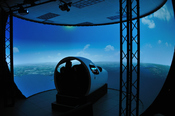 English: The Mustang is a Frasca Flight Simulation Training Device (FSTD) for the Cessna Citation Mustang Very Light Jet (VLJ).