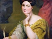 The Hon. Mrs. Caroline Norton, society beauty and author, 1832