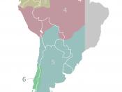 The audiencias of the Viceroyalty of Peru c.1650. Territorial divisions of the Viceroyalty of Peru as described by the laws compiled in the Recopilación of 1680. Italiano: Le audiencias del Vicereame del Perù (1650 circa). Quella di Charcas è nella sezion