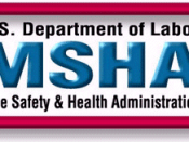 Official emblem of the Mine Safety and Health Administration