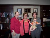 Here we are with the judge, immediately after she signed the order granting Jill's petition to adopt Noah.