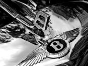 Bentley's winged
