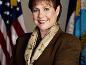 Ann Veneman, former Secretary of Agriculture of the United States.