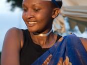Rwandan dancer.