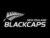 The Black Caps logo.