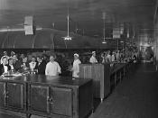 Kitchen and staff, Windsor Hotel, Montreal, QC, 1916