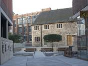 English: The Old Grammar School, refurbished as part of the Highcross Leicester development
