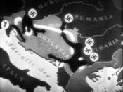 An animation depicting the Axis invasion of Yugoslavia from the The Battle of Russia, the fifth film in the Why We Fight series.