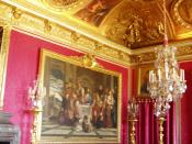 Red room at Versailles
