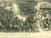 English: Rex parade, New Orleans Mardi Gras
