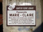 Bobigny - Passerelle Marie-Claire