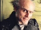 Jim Carrey as Count Olaf in the 2004 film.