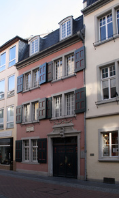 English: House of birth Ludwig van Beethoven, Bonn/Germany, Bonngasse Deutsch: Geburtshaus Ludwig van Beethoven, Bonn, Bonngasse DENordrhein-Westfalen53111