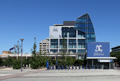 English: Alan Gilbert Building, University of Melbourne, Grattan Street, Calton