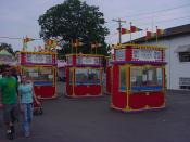 Carnival Ride Ticket Booths