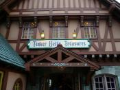 Tinker Belle's Treasures Dorrway Magic Kingdom Walt Disney World