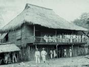 Campamento de Emilio Aguinaldo en Biak-na-Bato