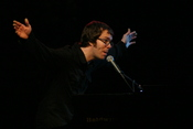Ben Folds performing in Knoxville, Tennessee