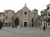 Chiesa di San Giovanni Battista in Bragora, Sestiere di Castello, Venezia, Italy