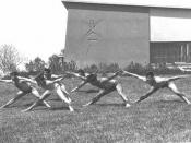 Front of Wingate Physical Education Institute, 1959