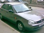 Lada Priora car