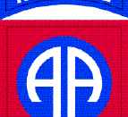 English: 82nd Airborne Division Shoulder Sleeve Insignia