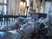 Monument to King Henry IV of England and his queen, Joan of Navarre, in Canterbury Cathedral, Kent