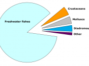 World inland fisheries capture 2007 based on FAO data