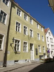 English: House of Michel Sittow, Tallinn, Rataskaevu 18/20