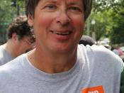English: Portrait of Dave Barry, taken after the Washington Post Hunt June 5, 2011