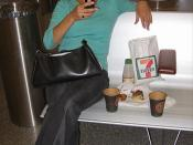 Lina i lufthavnen