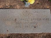Maggie Hall Epperson 1900-1988