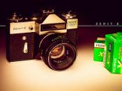 vintage Zenit-E