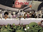 Cover of Comic Book Chew Issue #15