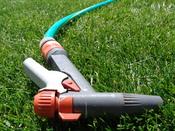 English: A Gardena garden hose pistol