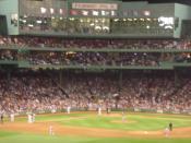 English: Baseball game score