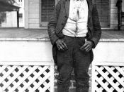 Former slave at Live Oak Plantation: Leon County, Florida